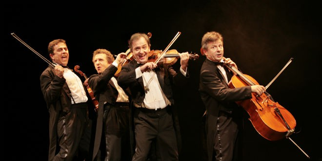 Le Quatuor : quatre musiciens, comédiens et humoristes