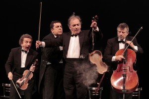 Humour, Clownerie et musique classique: Le Quatuor.