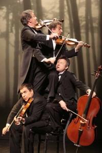 Des performances incroyables au violon, alto, contrebasse et violoncelle