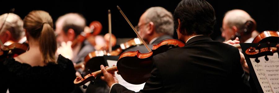 Violon dans un orchestre